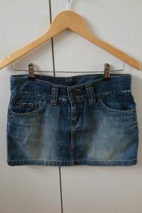 Jeansowa mini spódniczka Vertus M...