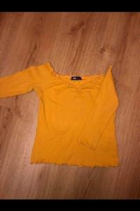 Musztardowa bluzeczka