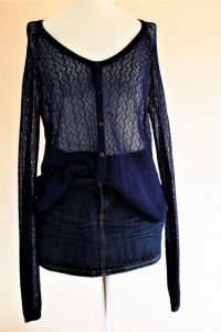 Ażurowy sweter L Mexx...