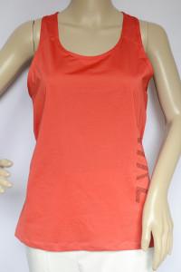 Koszulka Sportowa Czerwona Nike Dri Fit L 40 Fitness
