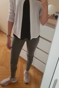 biała narzutka