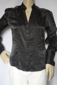Koszula Czarna Zara Woman M 38 Elegancka Jedwab...