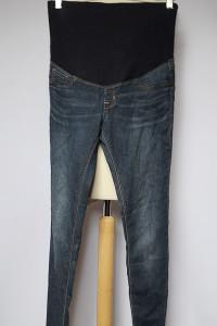 Spodnie Jeansowe Treginsy M 38 Super Skinny Rurki Ciążowe...
