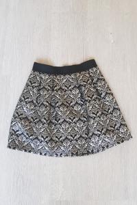 Rozkloszowana spódniczka glamour mini House...