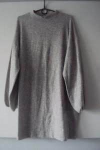 sweterkowa tunika sukienka ZARA...