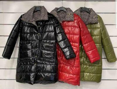 Odzież wierzchnia Lakierowany dwustronny płaszcz kurtka