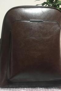 Vintage prosty plecak o dużej pojemności