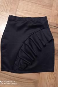 Czarna spódnica Boohoo