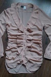 Piękna beżowa bluzka 36