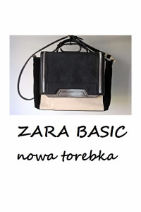Zara Basic nowa torebka aktówka A4