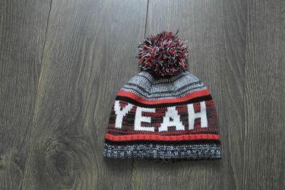 Czapki Ciepła czapka z pomponem 3 4 latka