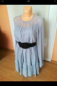 Błękitna sukienka Mohito