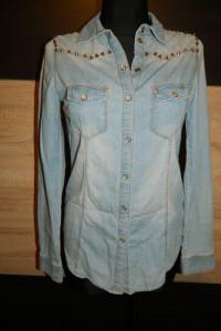 Denim Co jeansowa koszula roz 34 36