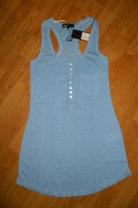 CUBUS niebieska tunika boxerka roz 34
