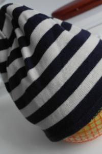 Dwustronna czapka chłopięca 92 98