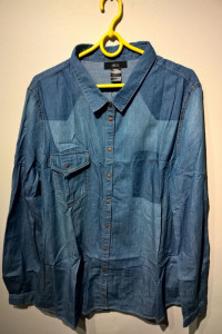 ELLOS NOWA niebieska koszula r50...