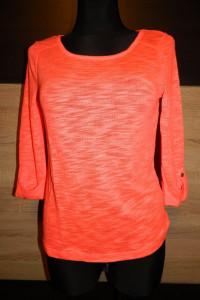 bluzka sweterek neon roz S...