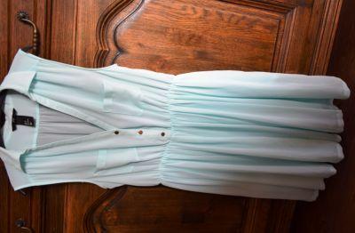 Suknie i sukienki Śliczna miętowa zwiewna 36 H&M