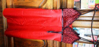 Suknie i sukienki Sukienka z panterką nowa 38