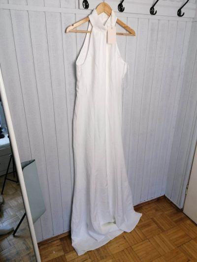 Spódnice Sukienka długa biała