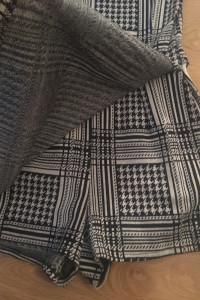 Wyprzedaż Zara Kombinezon Pepitka Czarno Biały Elekancki Mini S...