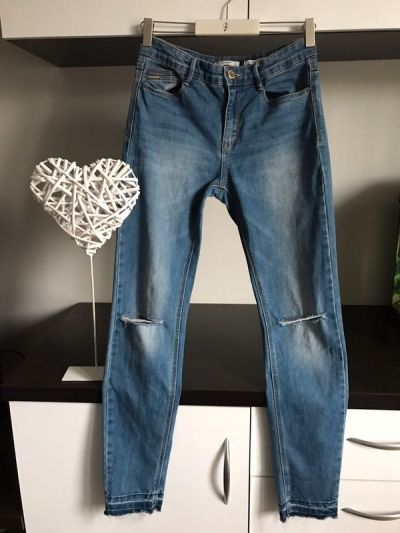 Spodnie stradivarius dzinsy