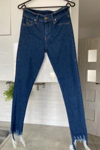 Diesel Sandy nowe jeansy rurki ripped skinnny...