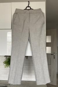 Mango nowe szare spodnie cygaretki