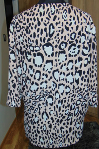 Elegancka wygodna koszula mgiełka panterka Topshop 40 L