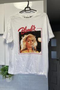Mango nowy tshirt Blondie koszulka print nadruk...