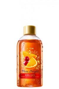 Płyn do kąpieli Żurawina i pomarańcza Avon