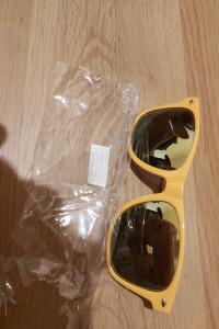 Okulary przeciwsłoneczne pomarańczowe...