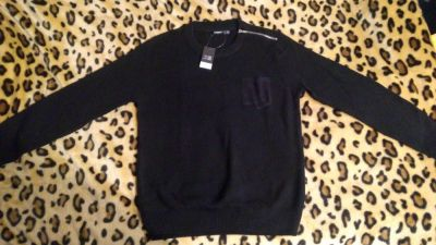 Swetry Sweter czarny Livergy
