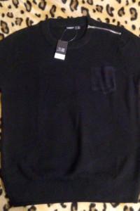 Sweter czarny Livergy...