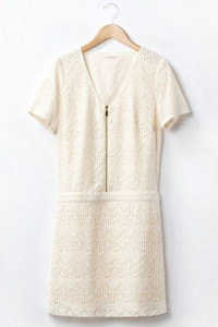 La Redoute NOWA beżowa sukienka r38...