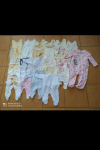 Ubranka dla dziewczynki 0 do 12 miesięcy