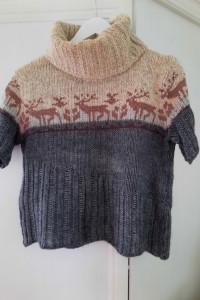 Sweter z reniferami 38 Linea Maglia