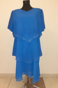 sukienka tiulowa warstwy cyrkonie...