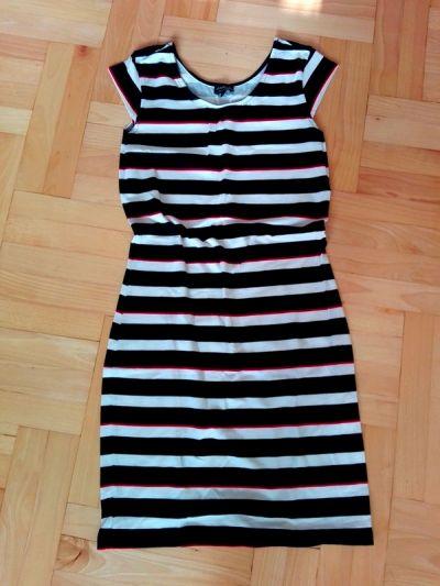Suknie i sukienki Sukienka marynarska w paski reserved M 38