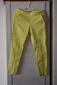 Nowe kanarkowe żółte zielone spodnie...