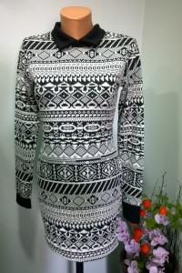 tunika black&white