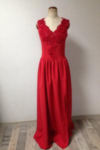 Sukienka długa szyta przez krawcową...