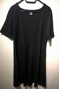 SARA KELLY by ELLOS NOWA czarna prosta sukienka r 46...