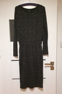 Solar 36 38 szara sukienka