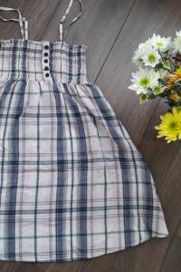 Sukienka na lato z kieszeniami...