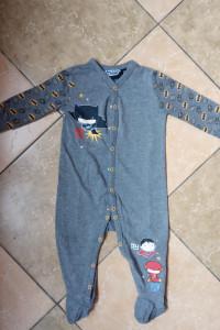 Pajac piżama z Pepco rozmiar 74 9 miesięcy