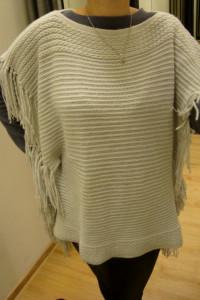 Szary Luźny Sweter Poncho One Size Takko Fashion...