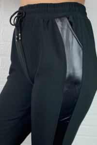 Ocieplane spodnie z wysokim stanem na gumce sznureczek wstawka ...