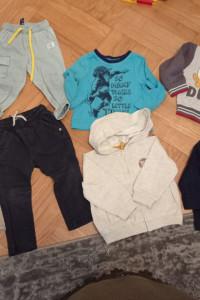 Ubranka chłopiec 80cm