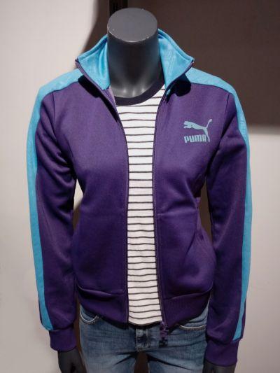 Bluzy Fioletowa Bluza S Puma